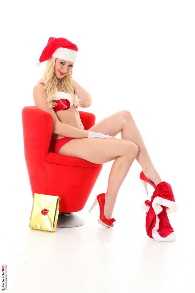 Christmas striptease screensaver