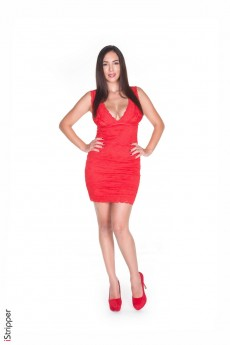 Sinful Red Dress - Jelena Jensen Stripper Name