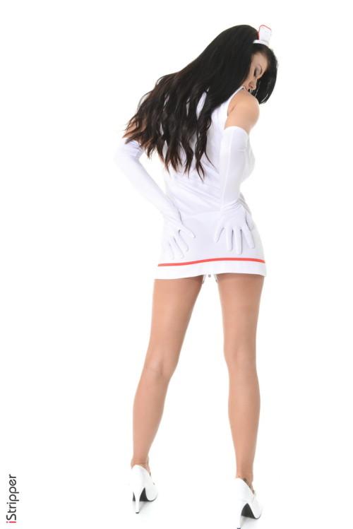 Lucy Li is hot nurse!